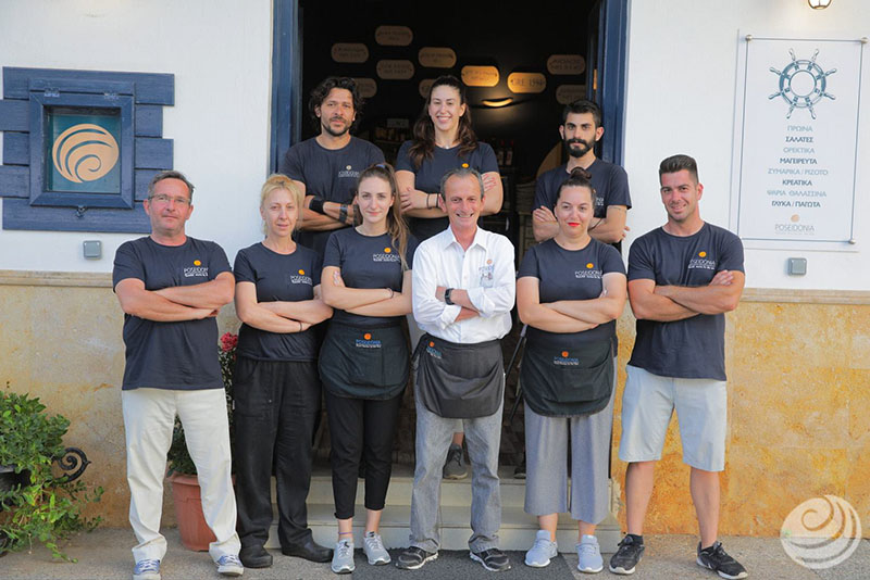Pylos Poseidonia Restaurant - Team
