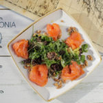 Pylos Poseidonia restaurant menu - Smoked salmon