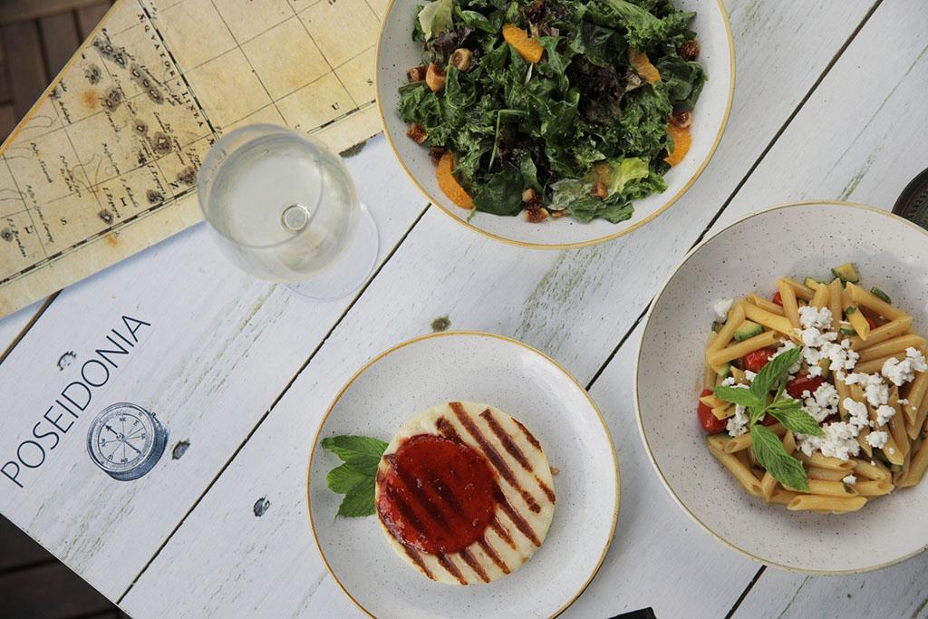 Pylos Poseidonia restaurant menu